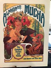 Alphonse Mucha: The Complete Posters and Panels by Jack Rennert & Alain Weil- Hi
