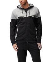 Hugo Boss Men's Premium Full Zip Cotton Sport Hoodie Jacket Saggy 1 50383360