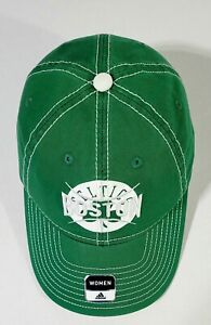 NEW OFFICIAL BOSTON CELTICS GREEN WOMENS ADJUSTABLE CAP $24