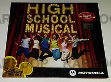 High School Musical Motorola Sampler (CD, 2006, Universal) MADE IN ARGENTINA