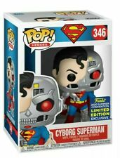 FUNKO POP! DC Super Heroes Cyborg Superman SDCC 2020 Shared Exclusive PREORDER