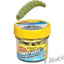 BERKLEY POWER HONEY WORMS GELB GLITTER 2,5CM 55ST. BIENENMADE KUNSTKÖDER TWISTER