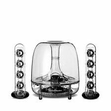 Harman Kardon Soundsticks 3 III LED Desktop / Mac Wired Speaker System OPEN BOX