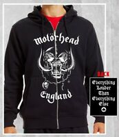 MOTORHEAD ENGLAND EVERYTHING LOUDER MENS ROCK METAL PUNK ADULT HOODIE S-2XL