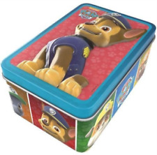 Hasbro Paw Patrol 3D Jigsaw Tin Press Out Card Models Story Book Kids Boys Toys