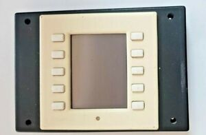 """Crestron CT-1000 3.8"""" Touchscreen Control Panel White Pulled From A Working Syst"""