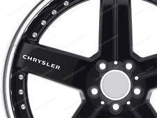 6 X Pegatinas para ruedas Crossfire 300C Chrysler Voyager Neon PT Cruiser