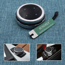 Silver Replacement Bigger Multimedia Knob Cover iDrive For BMW F10 F20 F30 F32