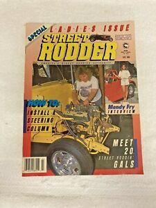 Street Rodder Magazine Special Ladies Issue March 1990