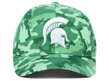 official photos 3b4b8 d7ef1 ... discount michigan state spartans ncaa top of the world gulf green camo  flex fit hat cap