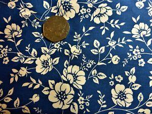 Negro Turquesa Cuarto gordo Algodón Popelín con gran carpa en Blanco Azul