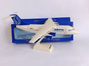 SABENA AIRLINES BAe 146 OO-SAB Plastic Aircraft Model 1:100 Scale Wooster READ