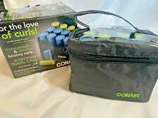 Conair Instant Heat Compact Setter Hot Rollers Ion Shine Travel Size New  (A026)