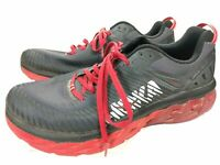 Hoka One One Marahi 2 Size 12 Black and Red Running Shoes
