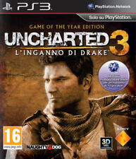 Uncharted 3: L'Inganno di Drake GOTY Ed. PS3 - totalmente in italiano