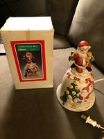 "Vintage Christmas Around The World ""LITED SANTA BELL #54-731 ON SALE"