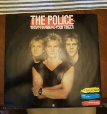 """THE POLICE 12"""" AMX 127 """"WRAPPED AROUND YOUR FINGER"""" AND 3 OTHERS BRITISH PRESSIN"""