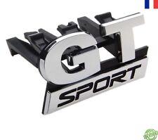 GT Grill Badge Emblème VW GOLF SCIROCCO PASSAT POLO CC Chrome Sport Mk 5 6 7 19