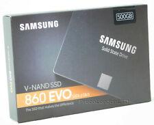 Samsung 860 EVO MZ-76E500 500GB Solid State SSD 2.5 Inch Internal Hard Drive