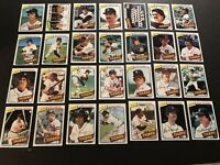 1980 Topps DETROIT TIGERS Complete TEAM Set FIDRYCH Whitaker TRAMMELL Morris