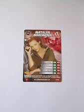 James Bond 007 Spy Common card 079 Natalya Simonova (Test series)