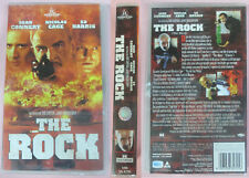 VHS Film THE ROCK Sean Connery Nicolas Cage Ed Harris sigillata (F171) no dvd