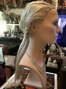Mannequin Wig Hindsgaul Hard Cap  Long Blonde