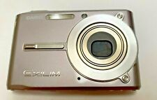 CASIO EXILIM EX-S500 5MP Digital Camera 3X ZOOM Slim All Metal SILVER  Tested