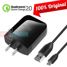 Original HTC Fast Charger 15W Qualcomm 2.0 for HTC M8 M9 Verizon Sprint T-Mobile