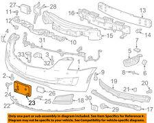 Cadillac GM OEM 15-16 ATS-License Plate Bracket Mount Holder 22933880