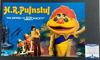 Sid Krofft Autographed H.R. Pufnstuf 11x17 Poster Signed With Beckett COA