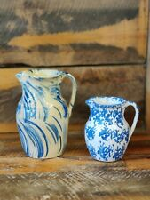 Cookeville Tn decorated pottery pitchers pretty design and great condition.