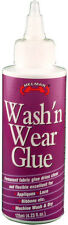Helmar Wash'n Wear Glue 4.23 fl.oz. Fabric Permanent