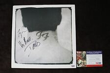 Foo Fighters David Grohl & Taylor Hawkins Signed Album Cover PSA Authenticated