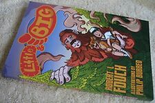 """Little & Big"" signed children's book Robert L. Fouch autographed Bigfoot W.Va."