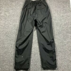 DryJoy by FootJoy Women's Size Small Reg Black Golf Wind Rain Pants Weatherproof