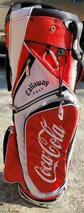 COCA COLA  Callaway Golf Bag _Red, Black & White - BRAND NEW