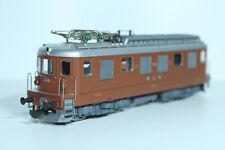 HAG 182 BLS Ae 4/4 braun, Betr.Nr. 258, mit Federpuffer, WS - OVP