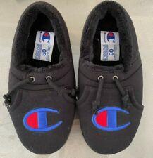 Men's Champion Black Slippers Size 8M EUC