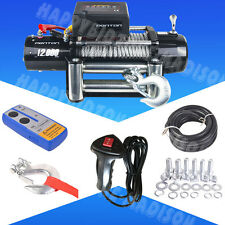 Penton 12000lb /5445kgs 12V Electric 4wd Winch Kit with Wireless Remote control