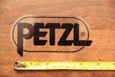 PETZL Headlamp STICKER Decal Black Large NEW