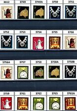 American Design Definitives 2002 to 2011 Complete Set 20 Scott's 3612 to 3763