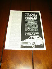 1961 JUDSON SUPERCHARGER VOLVO   ***ORIGINAL AD***