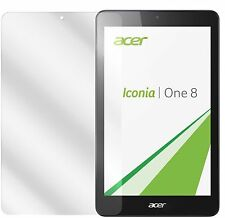 2x Acer Iconia One 8 B1-830 Pellicola Prottetiva Transparente Proteggi Schermo
