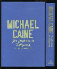 Michael Caine - The Elephant to Hollywood; SIGNED LIMITED EDITION