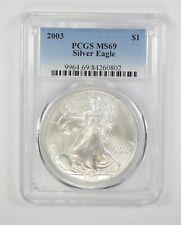 MS69 2003 American Silver Eagle - Graded PCGS *457