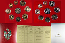 2004 Monaco Proof Set in the Official Collector's Box With Numbered Certificate