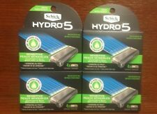 16 New SCHICK® HYDRO 5 Sense® Sensitive - 4 PACK OF 4 RAZOR BLADE CARTRIDGE