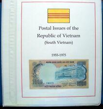 Korea: Complete, Mint, plus unissued & Viet Cong, in Album w/slipcase.