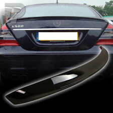 PAINTED FRO BENZ W221 A TYPE BOOT TRUNK SPOILER 197 BLACK